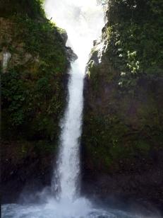 Waterval achter La Paz